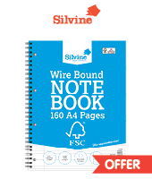 silvine everyday A4 notepad